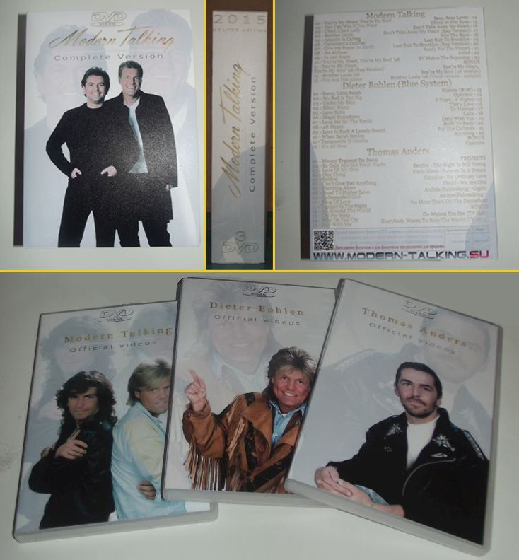 DELUXE 3DVD Complete version Modern Talking