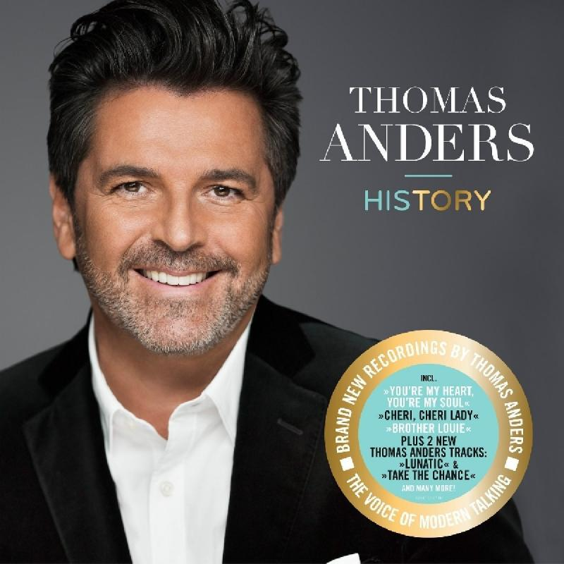 Thomas Anders - HISTORY [CD Deluxe version]